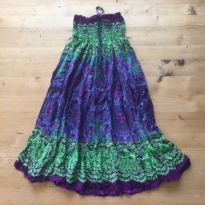 Dresses & Skirts - Purple maxi skirt
